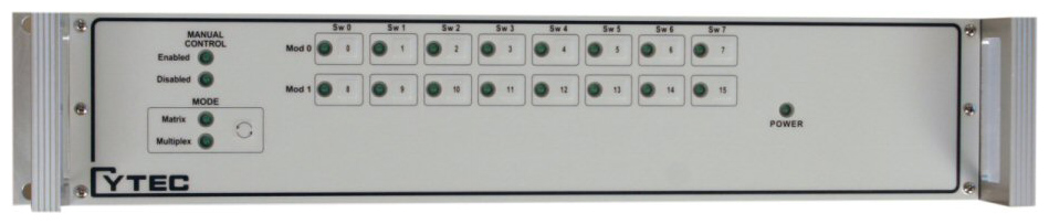RS/16 Front Panel with Manual Control