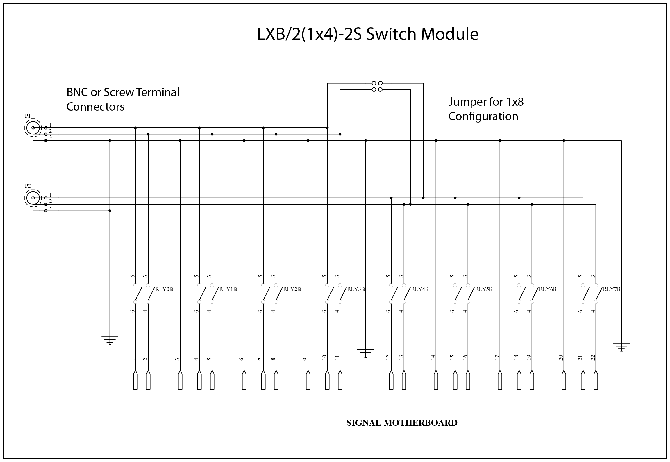 Cytec Lx Series Switching Systems For Automated Test And Data Jump Relay Switch Lx8 21x4 Modules